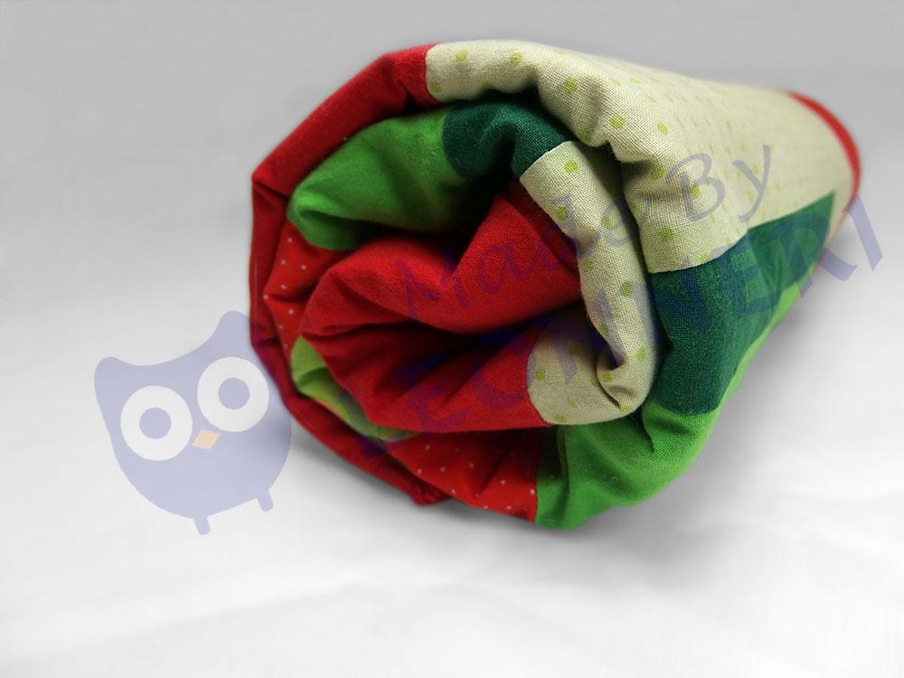 Babydecke in freundlichen und hellen Farben