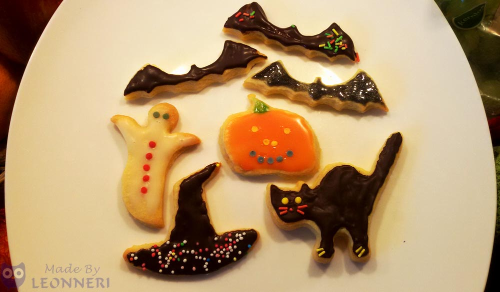 Leckere Halloween Plätzchen