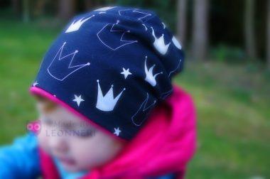 Ein Beanie für kleine Prinzessinnen