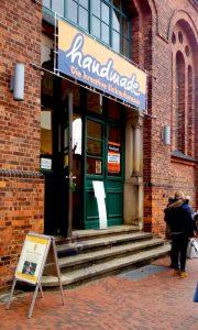 Eingang zur Kreativ-Messe handmade in Delmenhorst