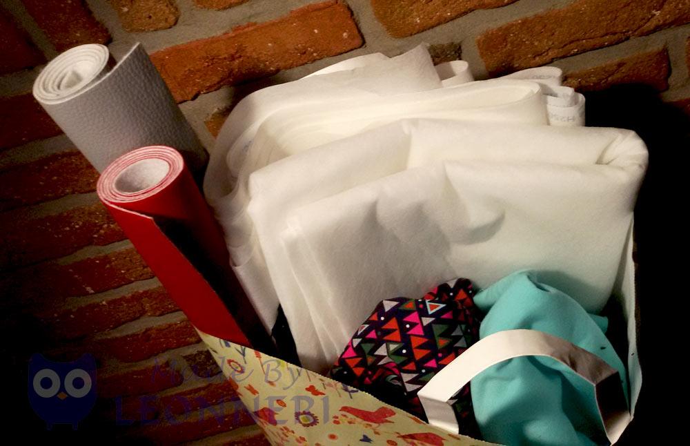 Meine ergatterten Stoff-Schätze beim Weihnachtsshopping in Weyhe