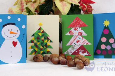 Die 10 schönsten Weihnachtskarten (Made by Leonneri)