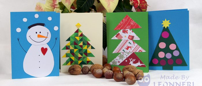 Die 10 schönsten Weihnachtskarten (Made by Leonneri) | LEONNERI