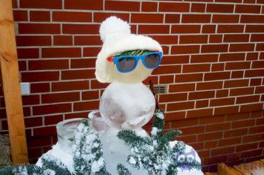 Ein cooler Mann aus Eis