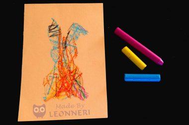 Anleitung: Bunte Osterhasen malen mit kleinen Kindern