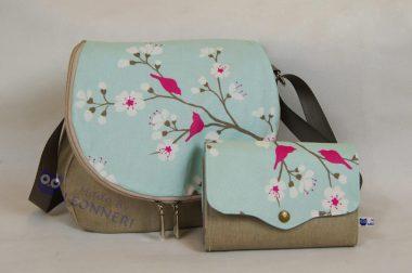 Eine Tasche mit passendem Portemonnaie zum Geburtstag