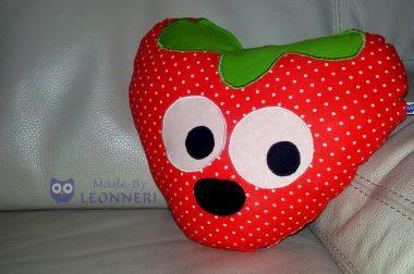 Süßes Erdbeerkissen