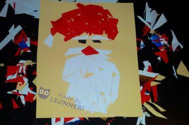 """""""Ein gutes Team"""" :) oder unser """"Weihnachtsmann-Mosaik"""""""