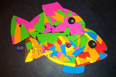Viele bunte Fische